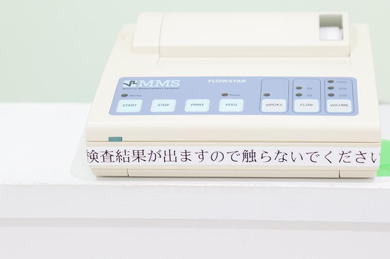 原則、毎回尿検査を実施しています